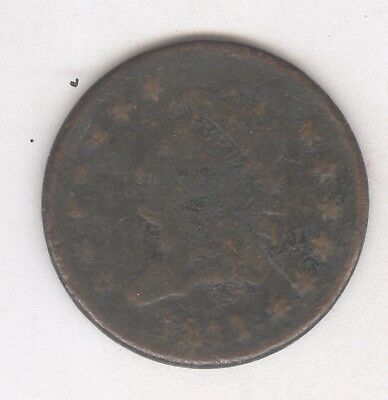 1811 Classic Head Large Cent + Nice Circ + No Reserve!
