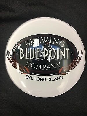 """Blue Point Brewing Co Medallion Badge 3"""" Beer Tap Faucet Tower Advertisement New"""