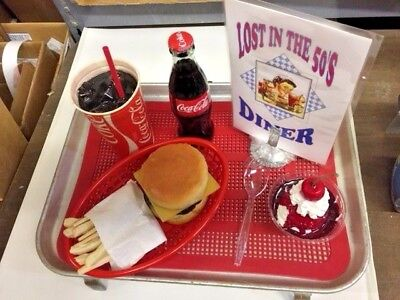 Deluxe Car Hop Tray Set With Vintage Traco Tray Complete And Ready To Mount