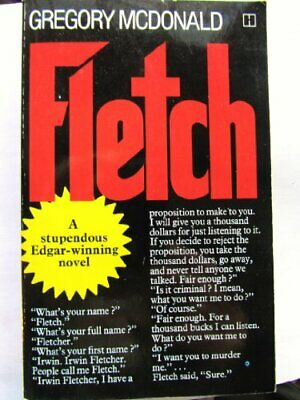 Fletch by Mcdonald, Gregory Paperback Book The Fast Free Shipping