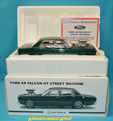 "Biante 1:18 Ford XR Falcon GT Street Machine - ""Nemesis"" Empire Green"