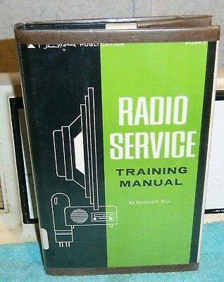 Radio Service Training Manual Rice 1968 1Sted 3Rd Print Isolation & Repair How2