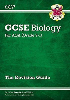 New Grade 9-1 GCSE Biology: AQA Revision Guide with Online Edition by CGP Books,