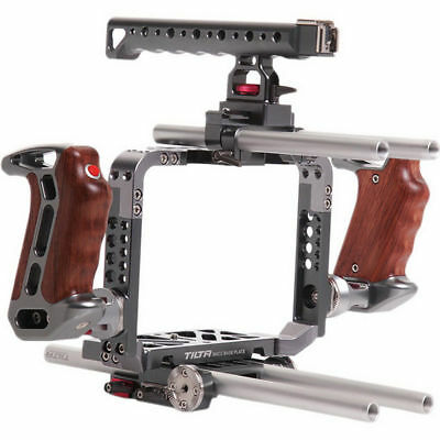 Tilta 15mm Rod Baseplate Mount Camera Cage Protection Brackets For BMCC C300