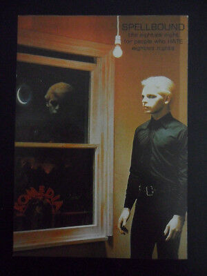 GARY NUMAN / TUBEWAY ARMY Are Friends Electric 1 x FLYER for Spellbound Komedia