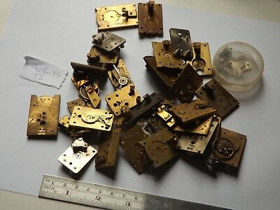 Good Vintage Platform Escapement Parts For A Clockmaker