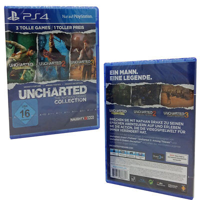 PS4 Uncharted The Nathan Drake Collection Sony Playstation Action Abenteuer