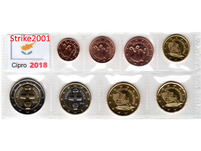 Euro CIPRO 2018 - 8 PZ FDC in Blister