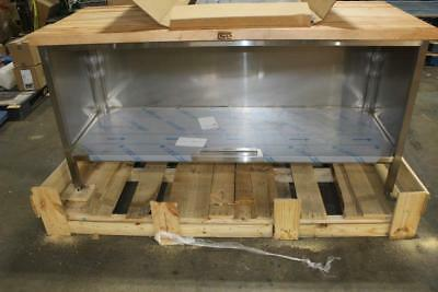 John Boos 72 in x 30 in Wood Top Work Table w/ Stainless Encosed Base EBSW7-3072