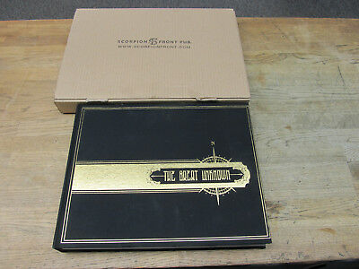 The Great Unknown Scorpion Front Tattoo Book Eli Falconette 150 Pgs Tattoo Flash