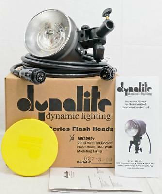 Dynalite #MH2065v - 2000 W/S Fan Cooled Flash Head - NEW/DEMO Unit - IN BOX!