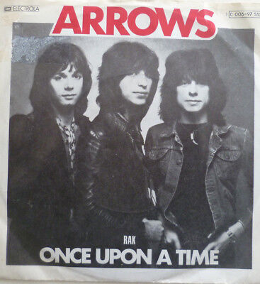 """7"""" 1974 GLAM RARE VG+++ ! ARROWS : Once Upon A Time"""