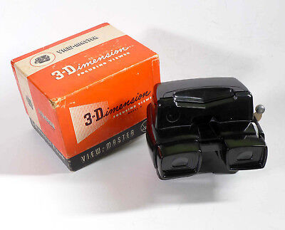 View-Master model D viewer serviced by DrT + LED bulb - THE BEST!! sh