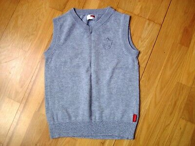 Boys grey tank top jumper by NAME IT age 7-8 in perfect condition cotton knit