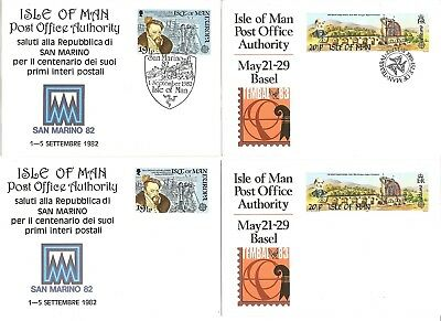 IOM pre paid cards MNIT & FDC x 6 issues