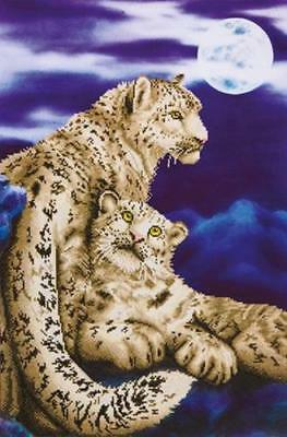 DIAMOND DOTZ Kit, Leopards - Snow Leopards