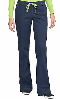 """Med Couture MC2 Style 8738 Elastic/Drawcord Waist Scrub Pant in """"Navy"""" Size XL"""