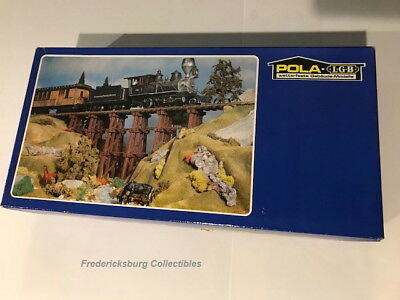 Pola Lgb 955 Wood Trestle - New