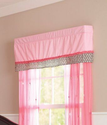 Summer Infant JULIETTE Nursery Window Valance - New in Package