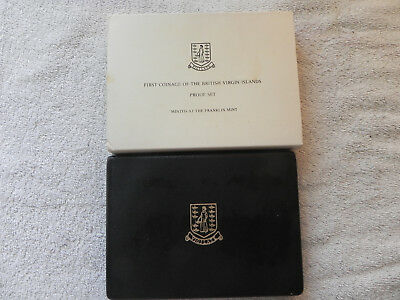 British Virgin Islands 1973 Proof Set with Box & Papers