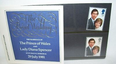 Sm Booklet and Stamps The Royal Wedding of Prince Charles and Diana July 29 1981