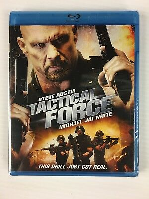 "Tactical Force (Blu-ray Disc, 2011) Steve ""Stone Cold"" Austin - BRAND NEW"