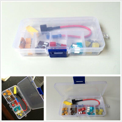 Car Add-A-Circuit Blade Style In-line Fuse Holder/Tap/Puller & Micro2 Fuse Set
