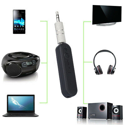 BLUETOOTH RECEIVER WIRELESS A2DP 3 5mm AUX Car Stereo Audio
