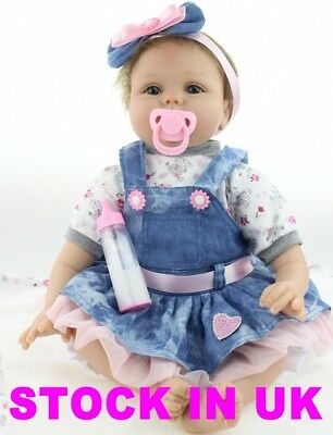 Realistic Silicone Reborn Doll Real Life Like Looking 22inch Newborn Baby Dolls