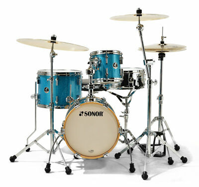 Sonor Martini Shell Set - Turquoise Galaxy Sparkle
