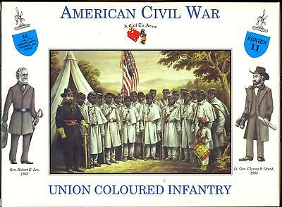 A Call to Arms Models 1/32 UNION COLOURED INFANTRY American Civil War
