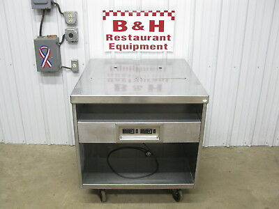 Delfield 2 Well Two Pan Steam Table Stainless Steel Cabinet Hot Food Bar Warmer