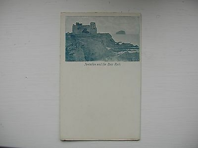 North Berwick - Tantallon Castle & Bass Rock.  (Very early 1900s)