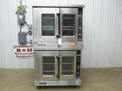 Garland Master 200 Double Stack Deck Electric Convection Oven MCO-ES-10E