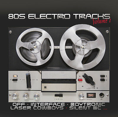 CD 80s Electro Tracks Vol.1 von Various Artists