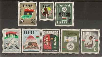 Biafra 1968 Independence Sets Mint