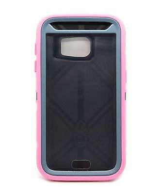 Otterbox Defender Case Samsung Galaxy S7 (Case Only) (DEEP BLUE GREY/PINK)