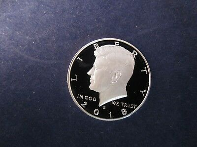 2018-S Silver Kennedy Half Deep Cameo Mirror Proof Upper Grading Ranges IN STOCK