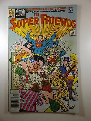 """The Super Friends #1 """"Fury of Super-Heroes!"""" Sharp VG- Condition!!"""