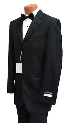 NEW Mens High Quality Geoffrey Beene Black Formal Tuxedo Jacket Tux Blazer NWT