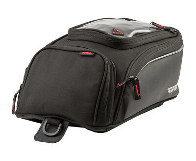 Fly Street Small Motorcycle Tank Bag - Magnetic and Strap mount 479-10300