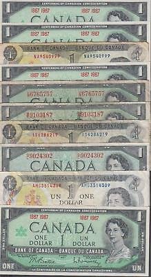 10 Banknotes from Canada