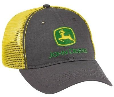 NEW John Deere BOYS YOUTH SIZE Realtree Hardwoods Camo Cap  LP53213