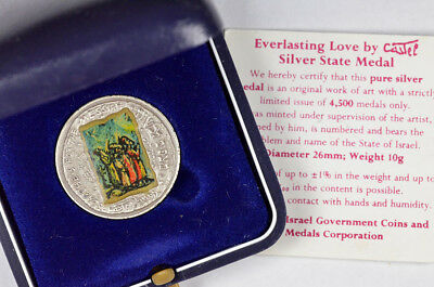 1986 Searchers For The Messiah & Everlasting Love Silver State Medal !!!
