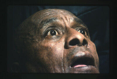 The Shining original 1980 35mm film slide Scatman Crothers looks scared