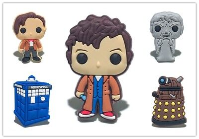20pcs Doctor Who PVC Shoes Charms fit for Croc & Jibbitz Wristbands Gift