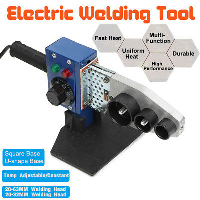 Automatic Electric Pipe Welding Machine Temp Adjustable Heating Tool PPR PE Tube