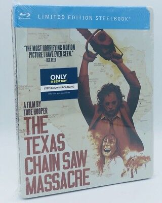 Texas Chain Saw Massacre, The (Blu-ray Disc, 2018; Only @ Best Buy SteelBook)