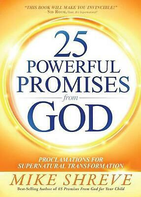 25 Powerful Promises from God by Mike Shreve Paperback Book Free Shipping!