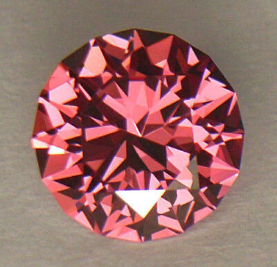 FLAWLESS CLARITY 6.50mm PRECISION DIAMOND ROUND CUT FINE PINK SRI LANKAN SPINEL